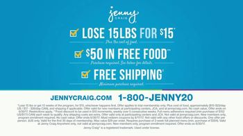 Jenny Craig TV Spot, 'Sloane: 15 Pounds for $15' - Thumbnail 4