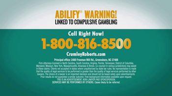 Crumley Roberts TV Spot, 'Abilify Warning: Compulsive Gambling' - Thumbnail 6