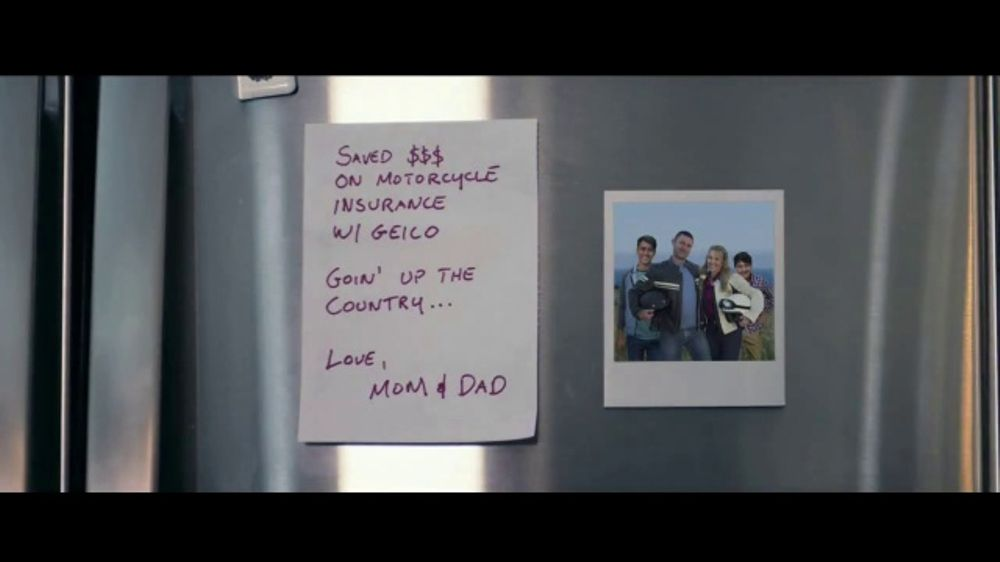 GEICO Motorcycle TV Commercial, 'Parents Go MIA' Song by Canned Heat