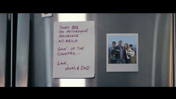 GEICO Motorcycle TV Spot, 'Parents Go MIA' Song by Canned Heat - Thumbnail 3