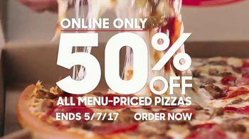 Pizza Hut TV Spot, 'Half Off Your Favorites' - Thumbnail 4