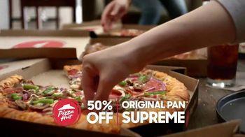 Pizza Hut TV Spot, 'Half Off Your Favorites' - Thumbnail 6