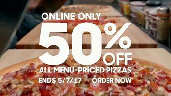 Pizza Hut TV Spot, 'Half Off Your Favorites' - Thumbnail 7
