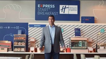 Holiday Inn Express TV Spot, 'Your Personal Pep Rally' Feat. Rob Riggle - Thumbnail 1
