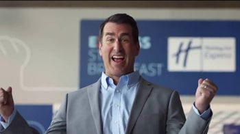Holiday Inn Express TV Spot, 'Your Personal Pep Rally' Feat. Rob Riggle