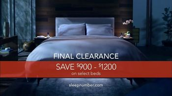 Sleep Number Final Clearance TV Spot, 'Elk in Your Bed: Beds for Couples'
