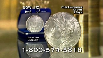 National Collector's Mint TV Spot, 'Morgan Silver Dollar: Silver Prices' - Thumbnail 8