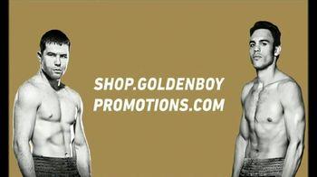 Golden Boy Shop TV Spot, 'Canelo vs. Chavez Jr. Gear'