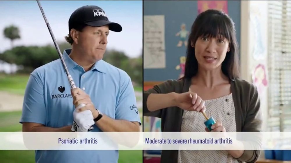 Enbrel TV Commercial, 'Side-By-Side Joint Pain' Featuring Phil Mickelson
