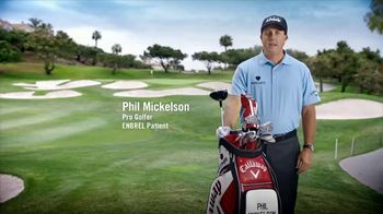 Enbrel TV Spot, 'Side-By-Side Joint Pain' Featuring Phil Mickelson - Thumbnail 1