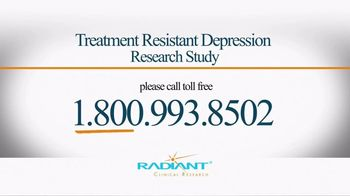 Radiant Clinical Research TV Spot, 'Treatment Resistant Depression Study' - Thumbnail 6