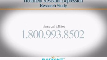 Radiant Clinical Research TV Spot, 'Treatment Resistant Depression Study' - Thumbnail 5