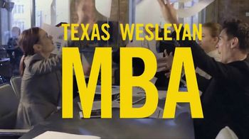 Texas Wesleyan University TV Spot, 'Get Your MBA 100% Online Like a Boss' - Thumbnail 4