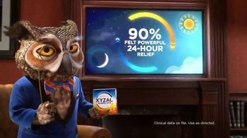 XYZAL Allergy 24HR TV Spot, 'The Proof Is in the Relief' - 2081 commercial airings