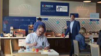 Holiday Inn Express TV Spot, 'Winning Move' Featuring Rob Riggle - Thumbnail 1