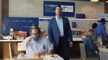 Holiday Inn Express TV Spot, 'Winning Move' Featuring Rob Riggle - Thumbnail 2