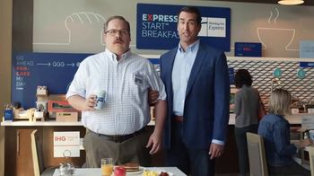 Holiday Inn Express TV Spot, 'Winning Move' Featuring Rob Riggle - 1442 commercial airings