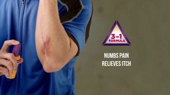 Gold Bond Pain & Itch Relieve Antiseptic Spray TV Spot, 'Relief' - Thumbnail 7