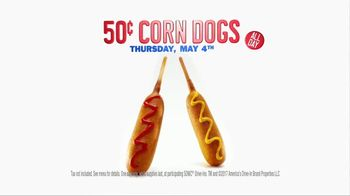 Sonic Drive-In 50-Cent Corn Dogs TV Spot, 'Fun on a Stick' - Thumbnail 8