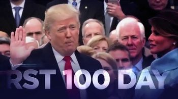 Donald J. Trump for President TV Spot, 'First 100 Days' - Thumbnail 1