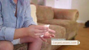 Carpe Antiperspirant Hand and Foot Lotion TV Spot, 'Real Carpe User: Joe' - Thumbnail 5