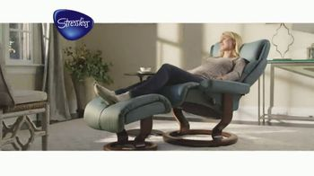 Ekornes Stressless TV Spot, 'Ease Into Comfort' - Thumbnail 7