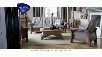 Ekornes Stressless TV Spot, 'Ease Into Comfort' - Thumbnail 3