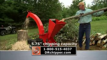 DR Power Chipper TV Spot, 'Recycle Organic Yard Waste' - Thumbnail 3