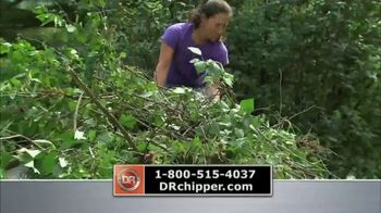DR Power Chipper TV Spot, 'Recycle Organic Yard Waste' - Thumbnail 5