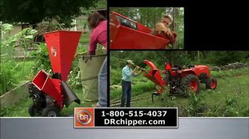 DR Power Chipper TV Spot, 'Recycle Organic Yard Waste' - Thumbnail 6
