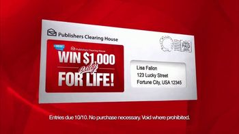 Publishers Clearing House TV Spot, 'Introducing A' - Thumbnail 6