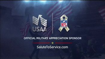 USAA TV Spot, 'Salute to Service: NFL Honors the Military' - Thumbnail 8