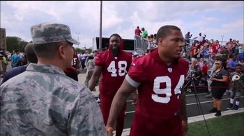 USAA TV Spot, 'Salute to Service: NFL Honors the Military' - Thumbnail 6