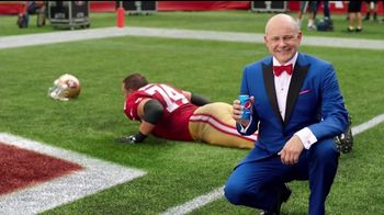 Pepsi TV Spot, 'The Fun Doesn't End Zone: Joe Staley's Dream' - 774 commercial airings