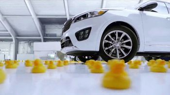 2017 Kia Sorento LX TV Spot, 'Rubber Ducks' [T1] - 166 commercial airings