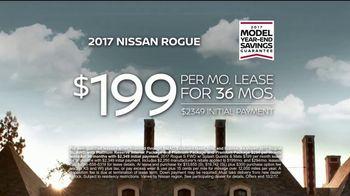 2017 Nissan Rogue TV Spot, 'Go Blue' Featuring Desmond Howard, Eddie George [T2] - Thumbnail 8