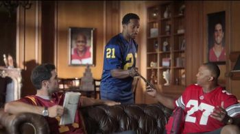 2017 Nissan Rogue TV Spot, 'Go Blue' Featuring Desmond Howard, Eddie George [T2]