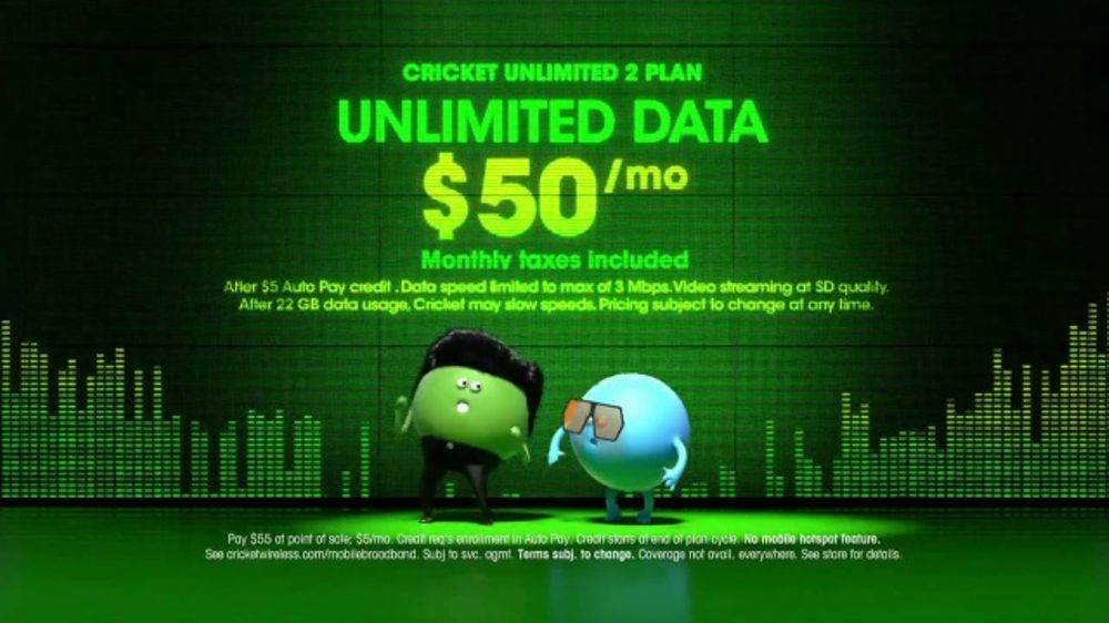 Cricket Wireless Unlimited 2 Plan Tv Commercial Dance Video