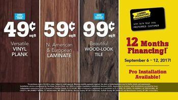 Lumber Liquidators 2017 Fall Floor Trends TV Spot, 'The Latest Styles' - Thumbnail 9