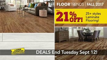 Lumber Liquidators 2017 Fall Floor Trends TV Spot, 'The Latest Styles' - Thumbnail 6