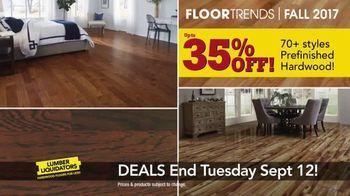 Lumber Liquidators 2017 Fall Floor Trends TV Spot, 'The Latest Styles' - Thumbnail 7