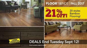Lumber Liquidators 2017 Fall Floor Trends TV Spot, 'The Latest Styles' - Thumbnail 8