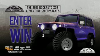 2017 RockAuto XOR Adventure Sweepstakes TV Spot, 'Hardcore' - Thumbnail 5