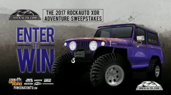2017 RockAuto XOR Adventure Sweepstakes TV Spot, 'Hardcore'