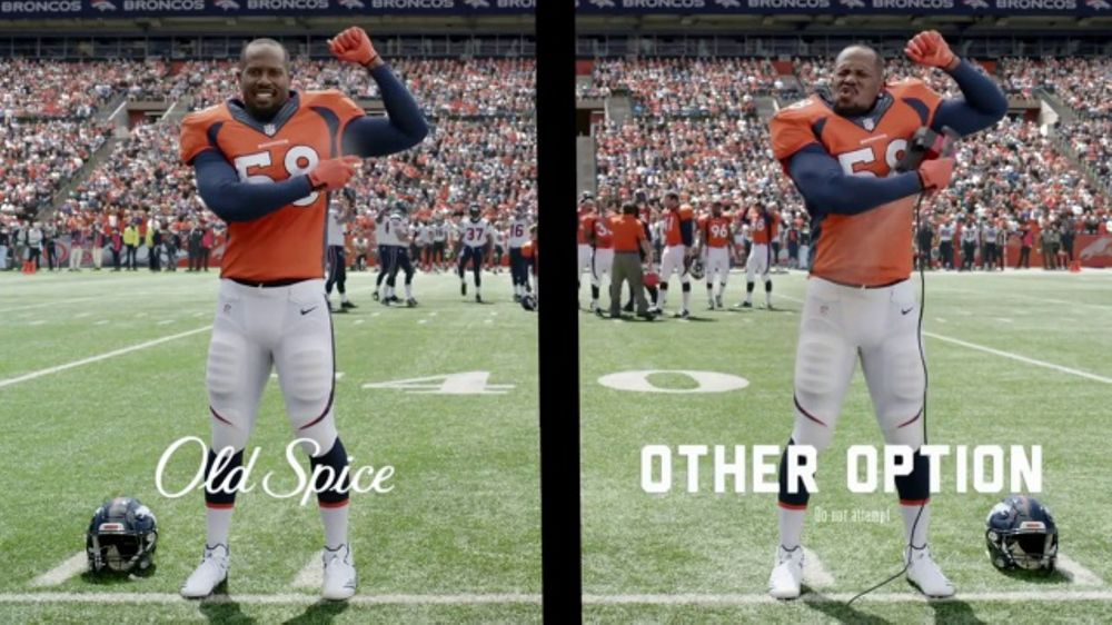 Old Spice Invisible Spray TV Commercial, 'Coach Talk' Featuring Von Miller