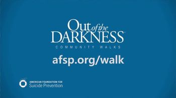 AFSP TV Spot, '2017 Out of the Darkness Community Walk' - Thumbnail 6