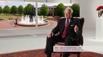 Troy University TV Spot, 'Chancellor Hawkins: Trojan Warrior Spirit' - Thumbnail 1