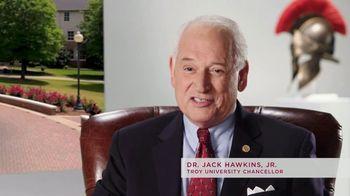 Troy University TV Spot, 'Chancellor Hawkins: Trojan Warrior Spirit' - Thumbnail 2