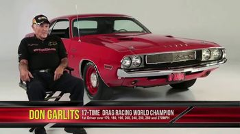 2017 Challenger Dream Giveaway TV Spot, 'Win Two' Featuring Don Garlits - 53 commercial airings