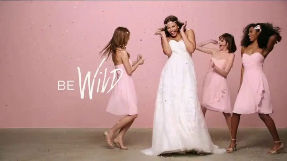 David S Bridal Tv Commercial Be Your Own Bride Be Wild Song By Danger Twins Video